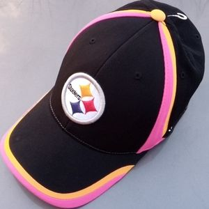 NFL/Reebok Pink Ribbon Pittsburgh Steelers Cap NWT